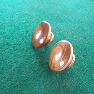 Wood Adjustment Knobs Walnut Finish