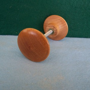 Wood Adjustment Knobs, Natural Finish