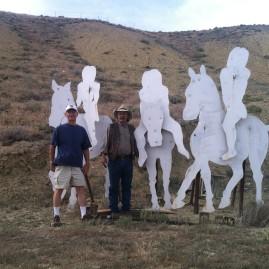 Express Rider & Paul at the FoBD shoot 6-28-14